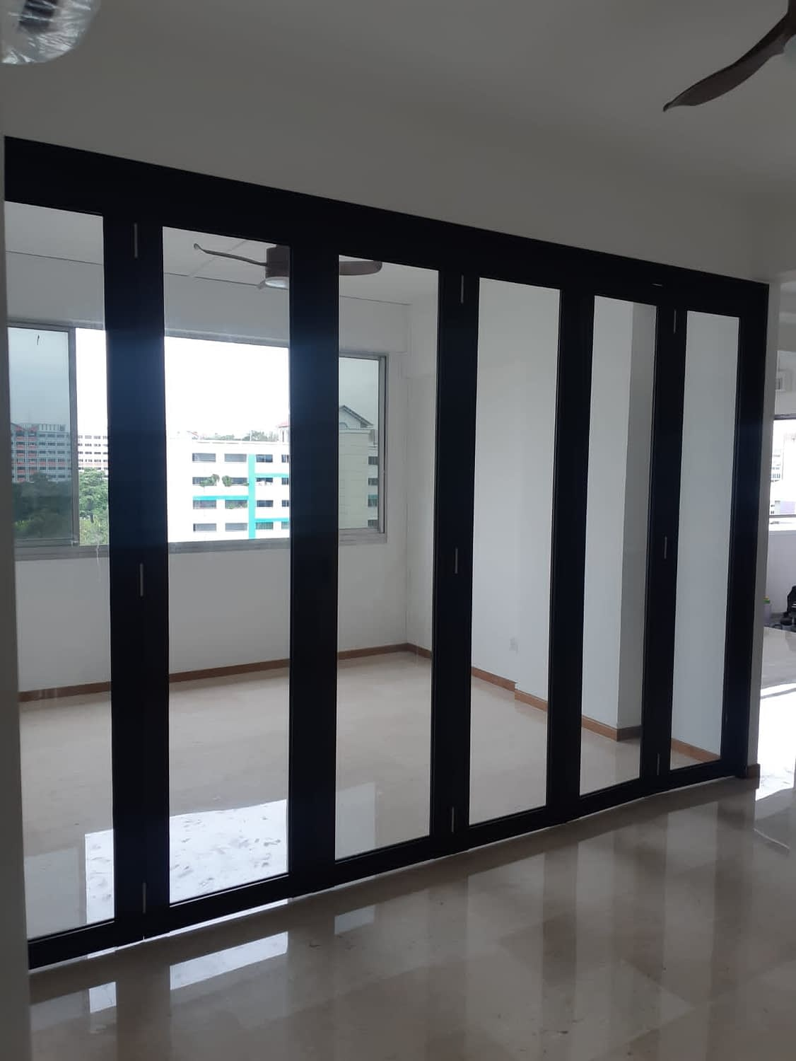 cheap balcony bifold door singapore