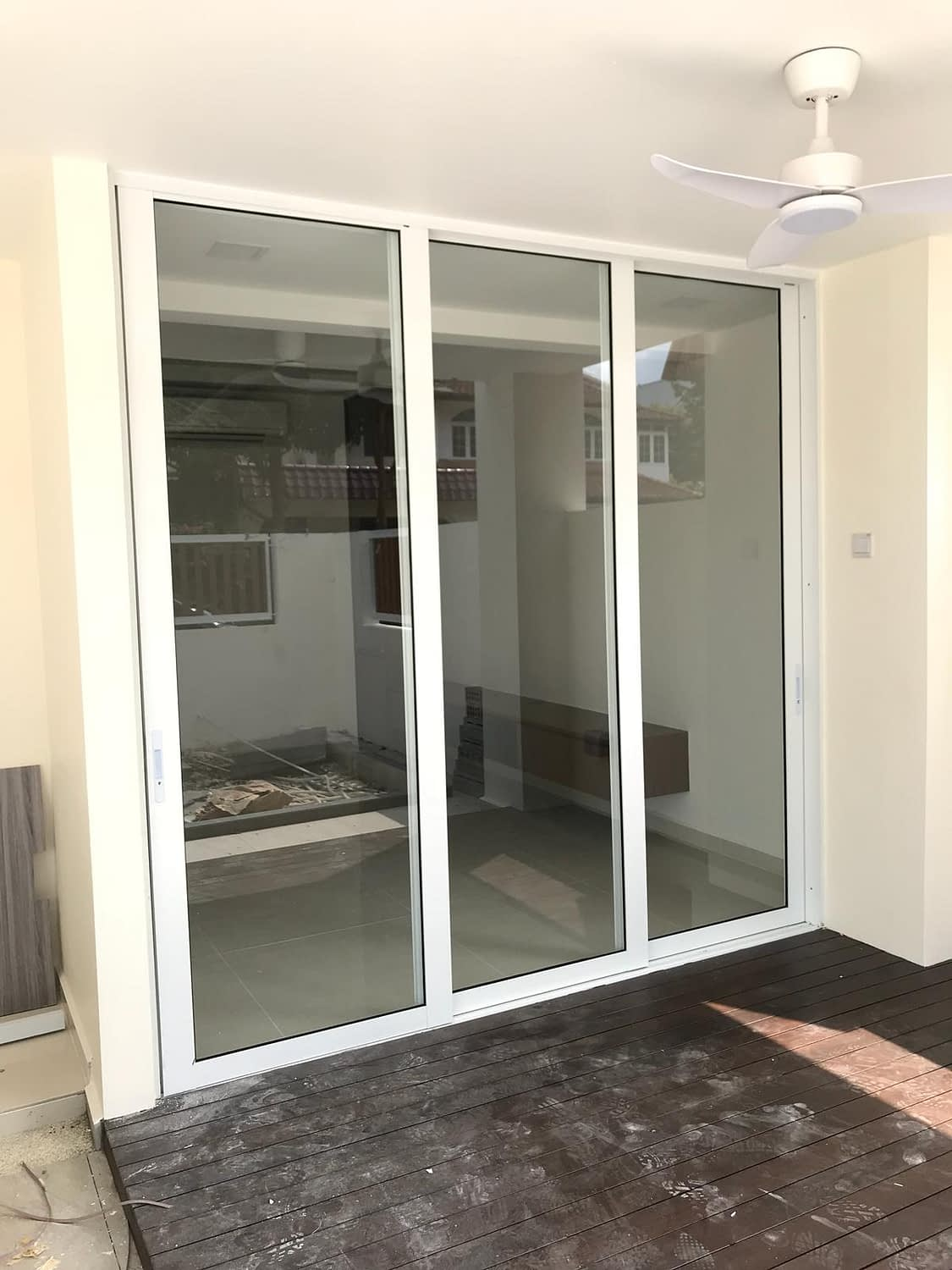 balcony bifold door